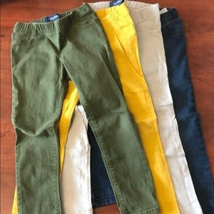 Bottoms - Colored Jeggings w/ stretch waist